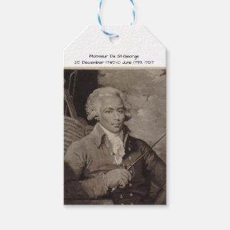 Monsieur De St George Étiquettes-cadeau