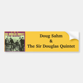 Monsieur Douglas Quintet Autocollant De Voiture