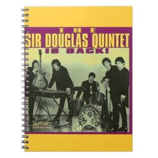 Monsieur Douglas Quintet Carnet À Spirale