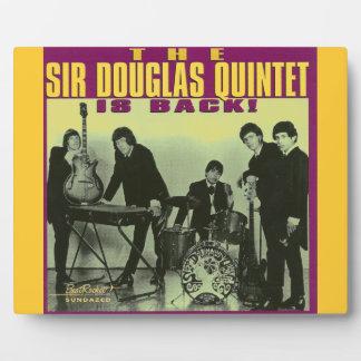 Monsieur Douglas Quintet Impression Sur Plaque