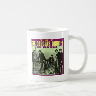 Monsieur Douglas Quintet Mug Blanc