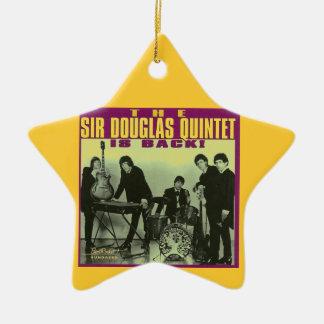 Monsieur Douglas Quintet Ornement Étoile En Céramique