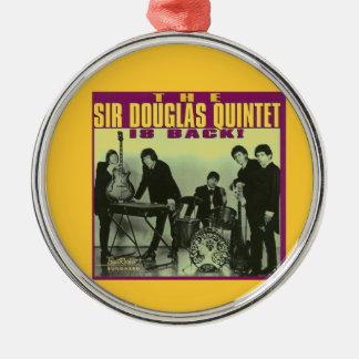 Monsieur Douglas Quintet Ornement Rond Argenté