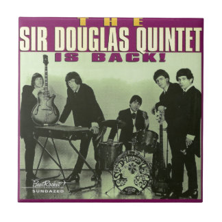 Monsieur Douglas Quintet Petit Carreau Carré