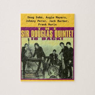 Monsieur Douglas Quintet Puzzles