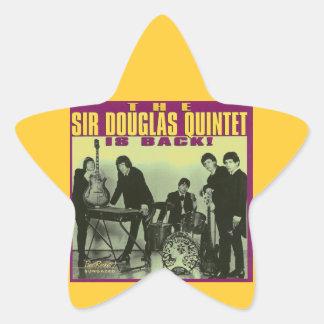 Monsieur Douglas Quintet Sticker Étoile