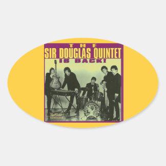 Monsieur Douglas Quintet Sticker Ovale