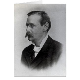 Monsieur Edmund William Gosse, 1892 Carte De Vœux