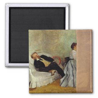 Monsieur et Madame Edouard Manet d'Edgar Degas   Aimant