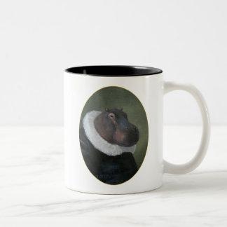 Monsieur Hippo Portrait Mug