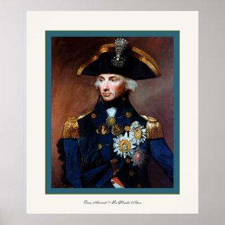 Monsieur Horatio Nelson de ~ d'amiral arrière Affiches