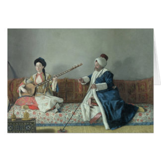 Monsieur Levett et Mademoiselle Helene Carte De Vœux