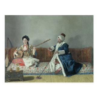 Monsieur Levett et Mademoiselle Helene Cartes Postales