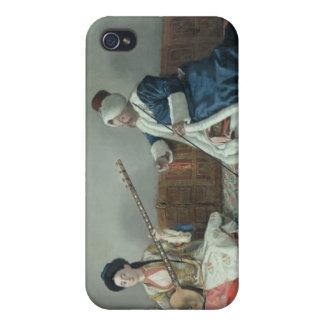 Monsieur Levett et Mademoiselle Helene Coque iPhone 4 Et 4S