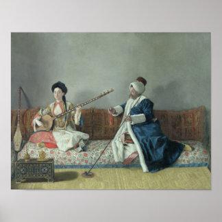 Monsieur Levett et Mademoiselle Helene Posters