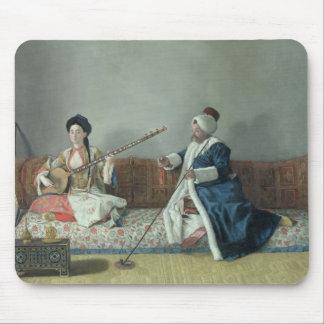 Monsieur Levett et Mademoiselle Helene Tapis De Souris