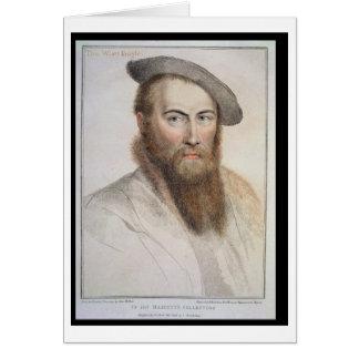 Monsieur Thomas Wyatt (c.1503-42) gravé par Cartes