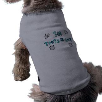 Monsieur Toots-un-Sort Funny Dog Shirt T-shirt Pour Chien