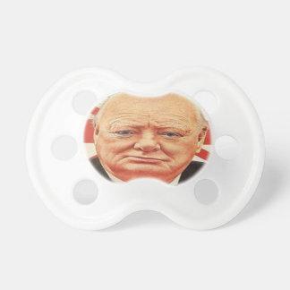 Monsieur Winston Churchill Tétine Pour Bébé