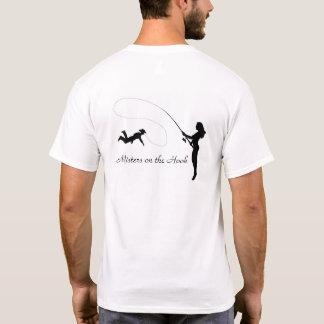 Monsieurs sur le crochet t-shirt