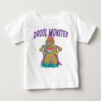 Monstre de bave t-shirt pour bébé