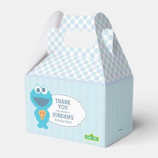 Monstre de biscuit de bébé du Sesame Street | Boites Faveurs De Mariage