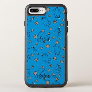 Monstre de biscuit et motif bleu de biscuits coque otterbox symmetry pour iPhone 7 plus
