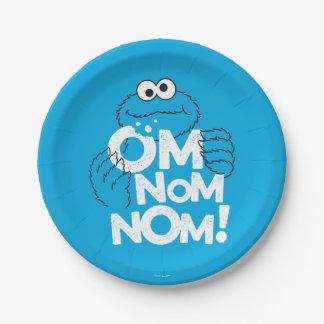 Monstre de biscuit | OM Nom Nom ! Assiettes En Papier