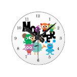 Monstre Horloge Ronde