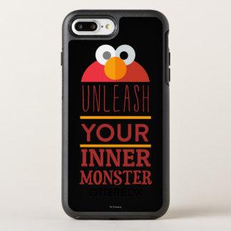 Monstre intérieur d'Elmo Coque Otterbox Symmetry Pour iPhone 7 Plus