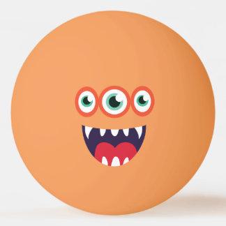 Monstre mignon Trois-Eyed drôle Balle De Ping Pong