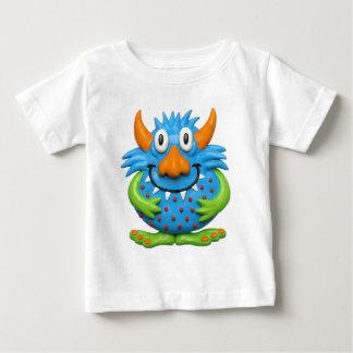 Monstre repéré par bonbon t-shirt pour bébé