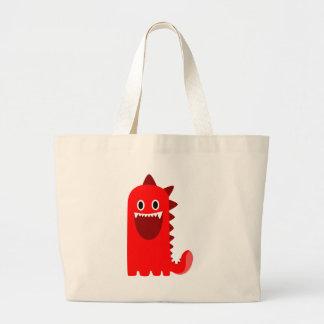 Monstre rouge de Spikey Grand Sac
