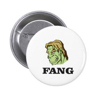 monstre vert de croc ouais badge