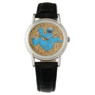 Monstre vintage et biscuits de biscuit montres bracelet