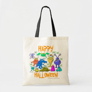 Monstres de Halloween Sacs Fourre-tout