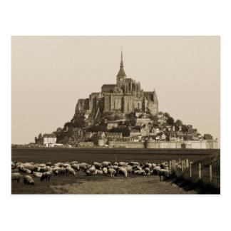 Mont Saint-Michel Carte Postale