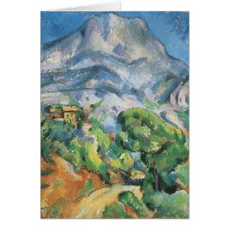 Mont Sainte Victoire au-dessus de Tholonet, Paul Carte De Vœux