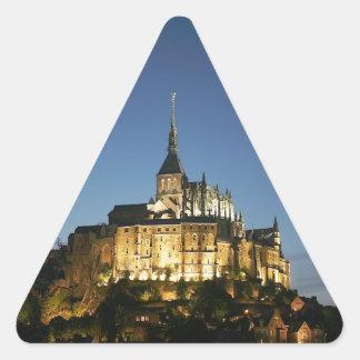Mont St Michel Stickers En Triangle