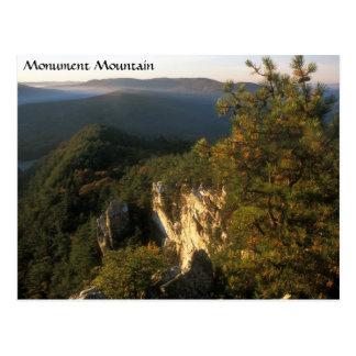 Montagne Berkshires le Massachusetts de monument Cartes Postales