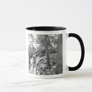 Montagne d'Aaron Rodgers faisant du vélo sur Mugs