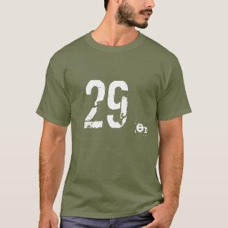 montagne de 29er MTB faisant du vélo le T-shirt