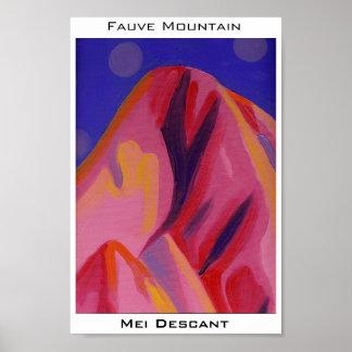 Montagne de Fauve Posters