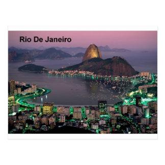 Montagne de pain de sucre de Rio de Janeiro du Carte Postale