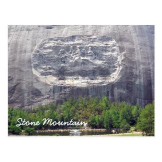 Montagne en pierre découpant la montagne en pierre cartes postales