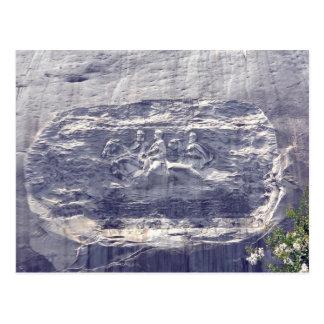 Montagne en pierre découpant, montagne en pierre cartes postales