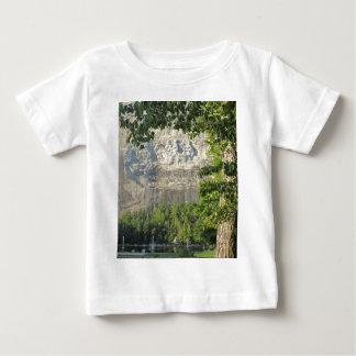 Montagne en pierre, la Géorgie T-shirt Pour Bébé