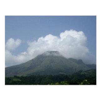 Montagne Pelée - Martinique, F.W.I. Carte Postale