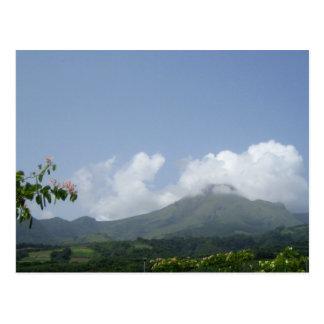 Montagne Pelée - Martinique, F.W.I. Cartes Postales