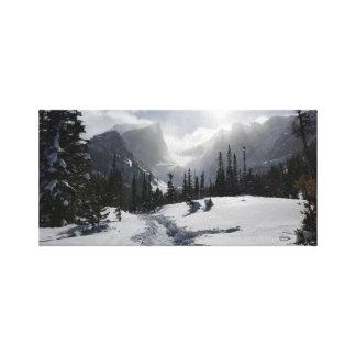 Montagne rocheuse haute toiles